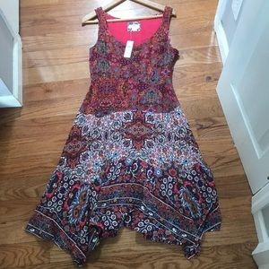 Anthropologie violette dress size 6p